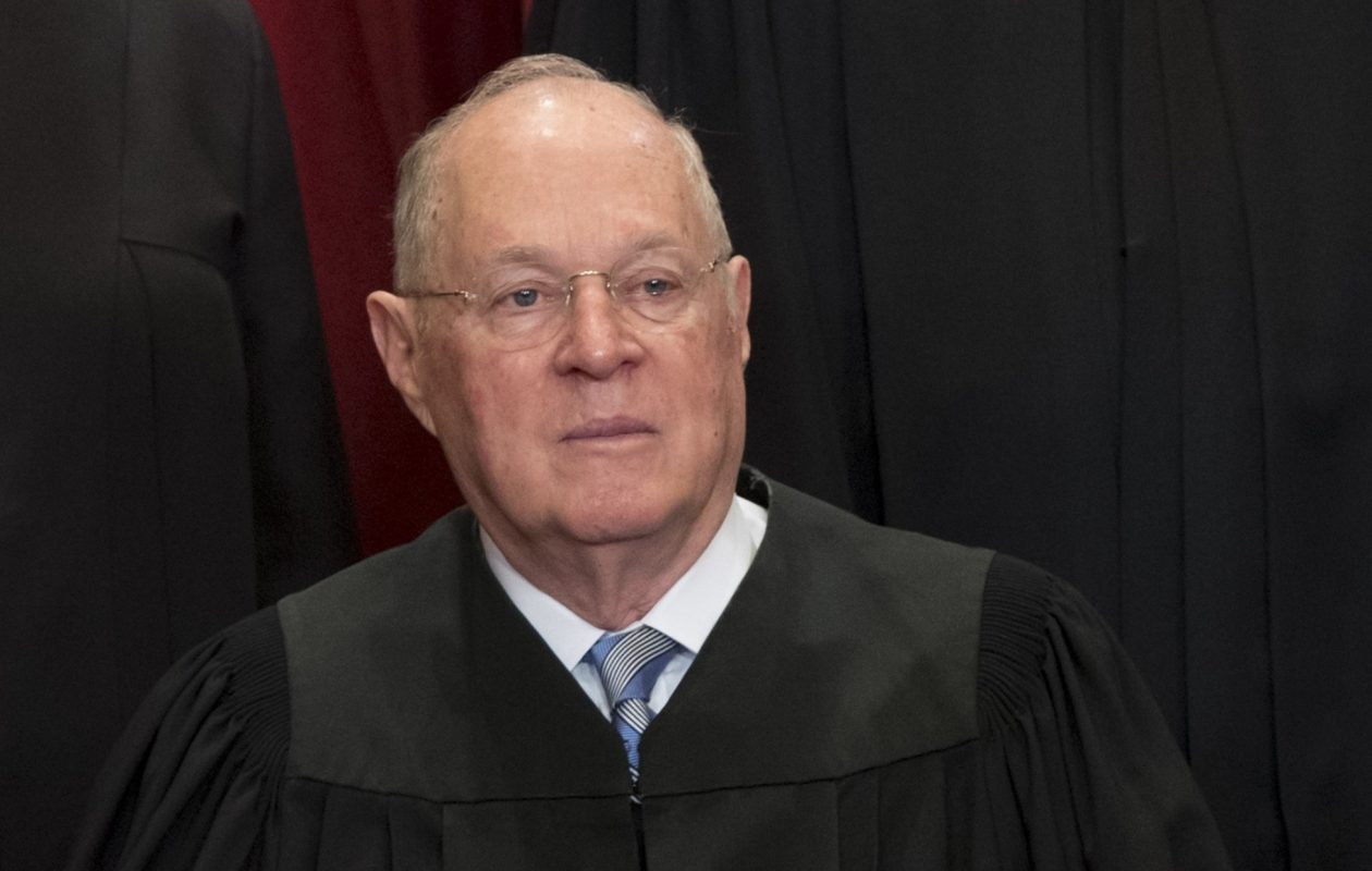 Supreme Court Justice Anthony Kennedy, 81, said in a statement he is stepping down after more than 30 years on the court. (Getty Images)