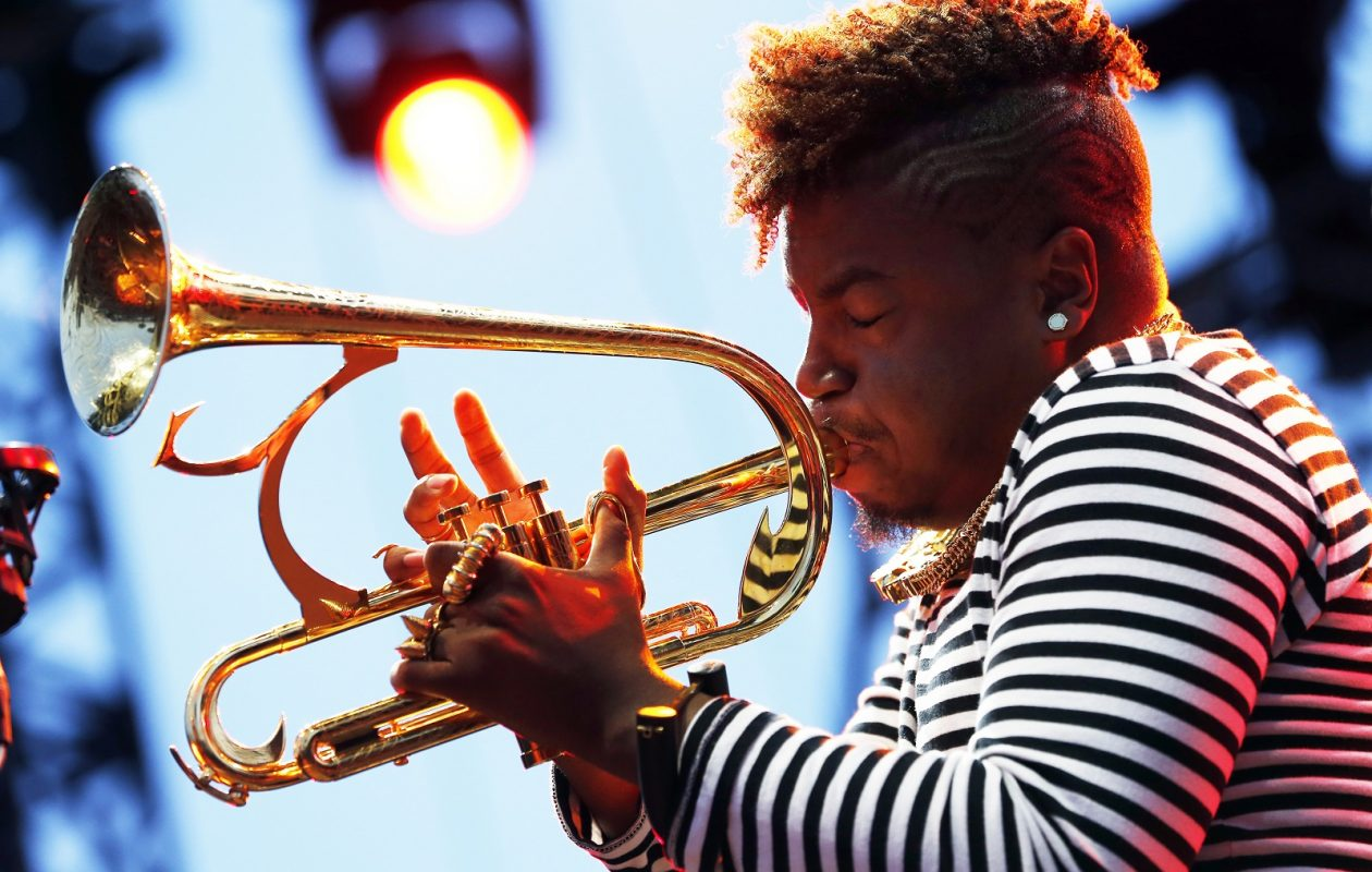 Christian Scott of R+R=NOW, a current favorite of Jeff Miers'.      (Getty Images)