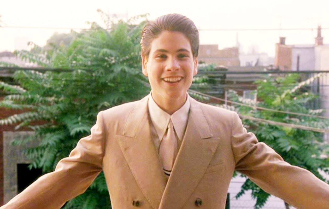 Christopher Serrone, seen here in the 1990 film 'Goodfellas,' will host a screening of the film at the Riviera Theatre in North Tonawanda.