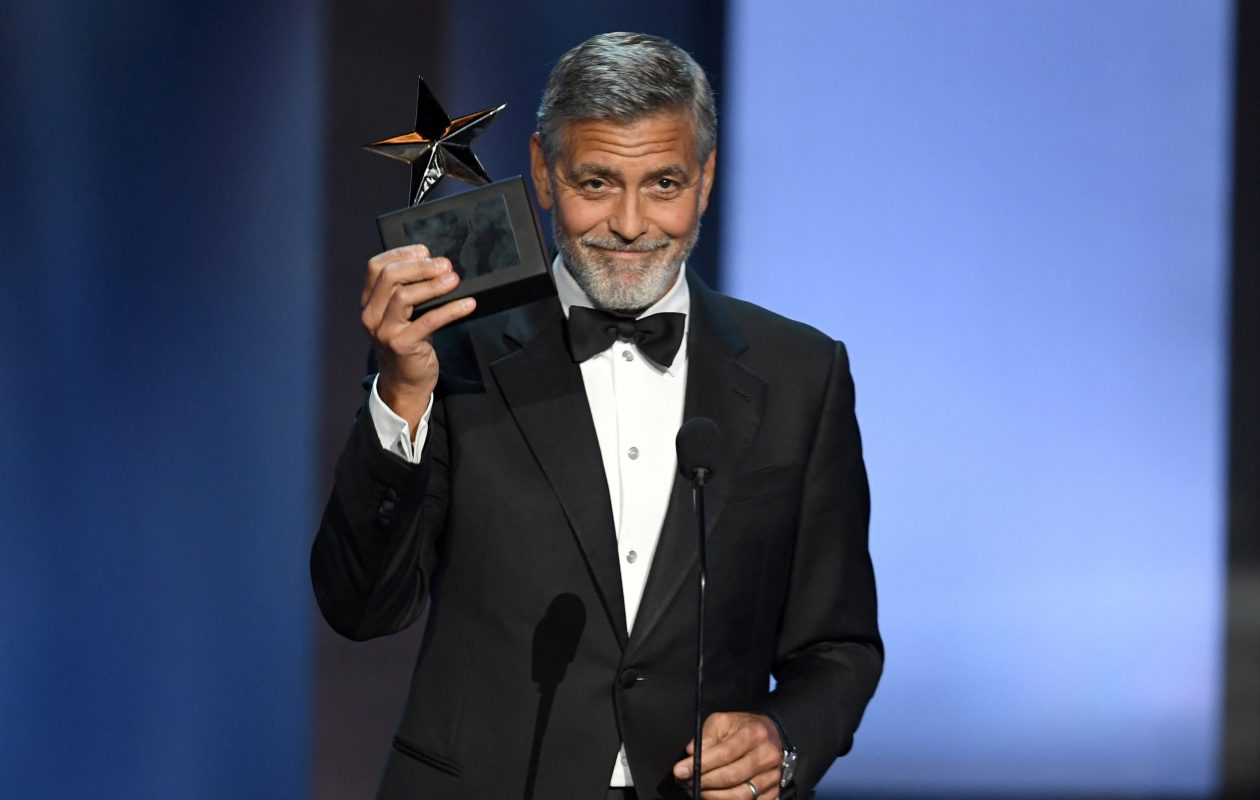 TNT's tribute to George Clooney airs tonight. (Kevin Winter/Getty Images for Turner)