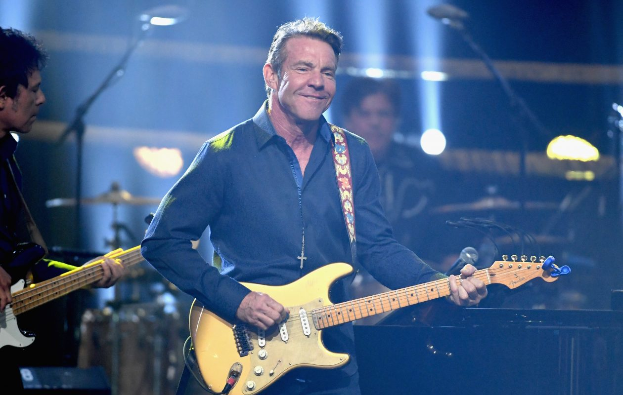 Dennis Quaid and the Sharks will play the Bear's Den at the Seneca Niagara Casino on June 23. (Getty Images)
