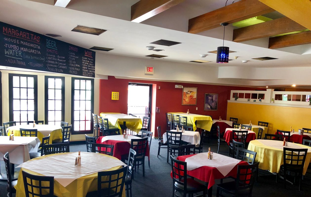This photo shows the interior of Don Agave, a Mexican restaurant that opened recently in the former Squire Shop space  on Main Street in Snyder. (Photo courtesy Sean Macaluso)