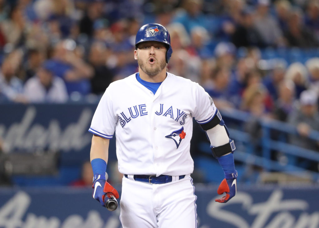 Blue Jays third baseman Josh Donaldson could be playing for the Bisons this weekend. (Getty Images)