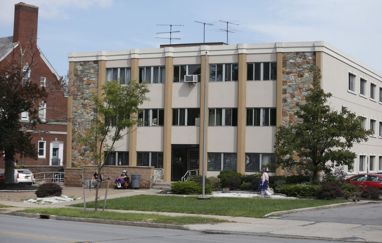 Emerald South Nursing & Rehabilitation Center on Delaware Avenue in Buffalo. (News file photo)
