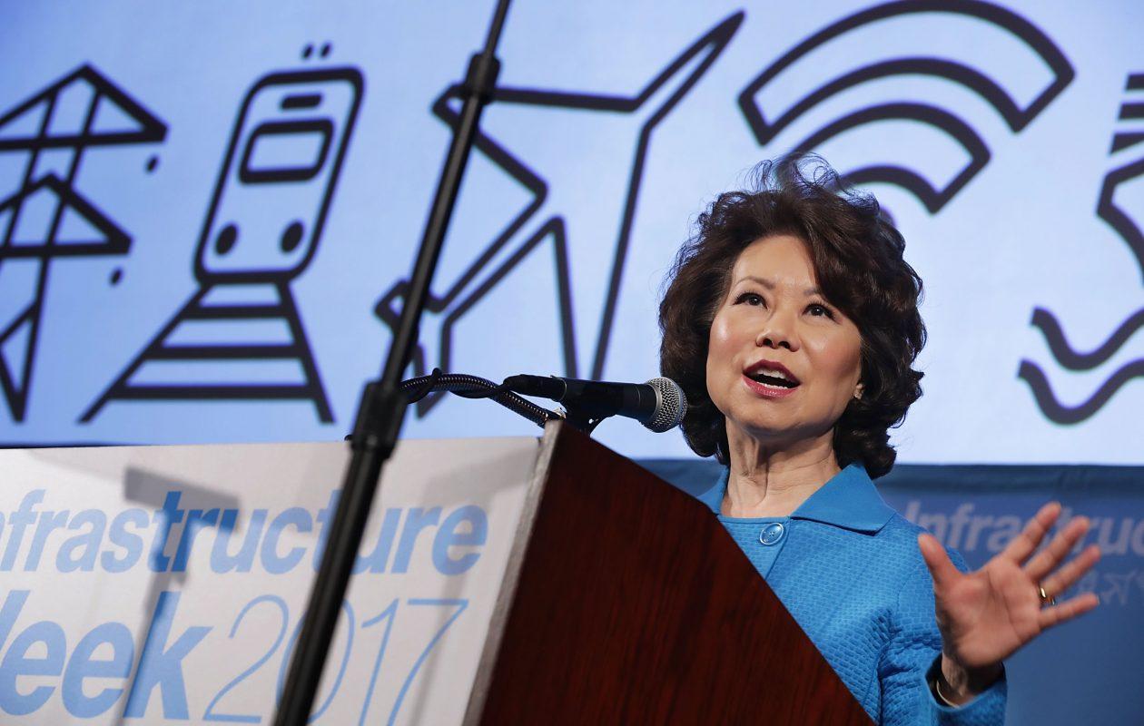 U.S. Transportation Secretary Elaine Chao.  (Chip Somodevilla/Getty Images file photo)