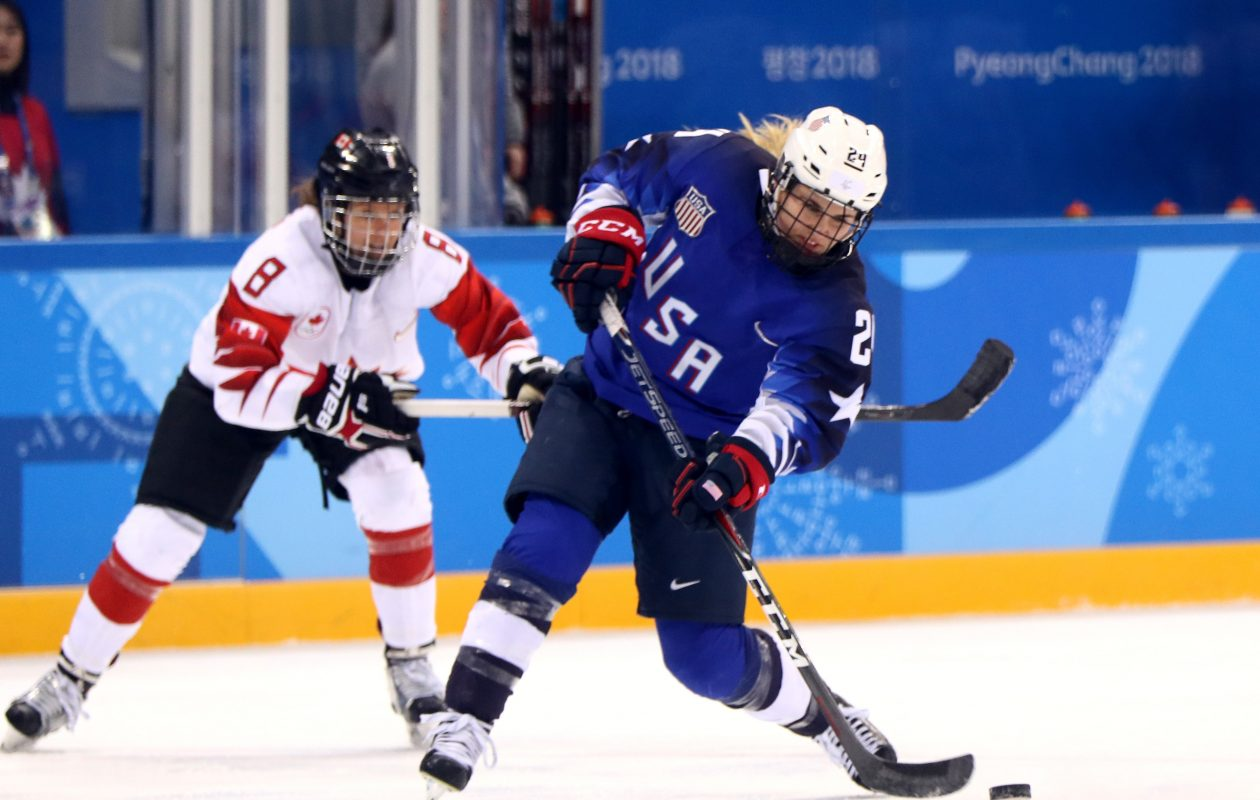 Danielle Cameranesi had five points for the U.S. en route to the 2018 Olympic gold medal. (Getty Images)