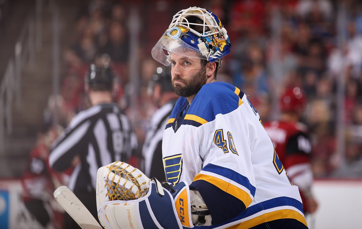 Carter Hutton will finally get the chance to be the full-time starter in Buffalo. (Getty Images)