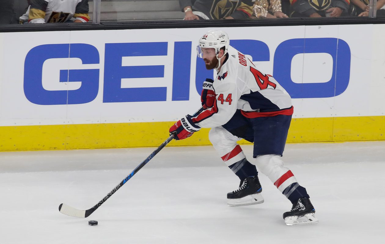 Brooks Orpik was traded by the Washington Capitals  (Isaac Brekken/Getty Images)