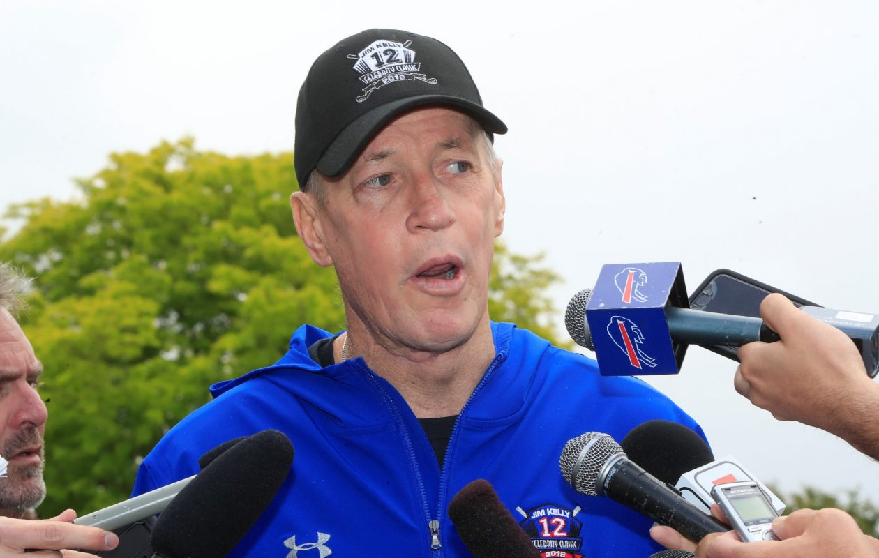 Jim Kelly at the 2018 Jim Kelly Celebrity Classic on June 4. (Harry Scull Jr./News file photo)