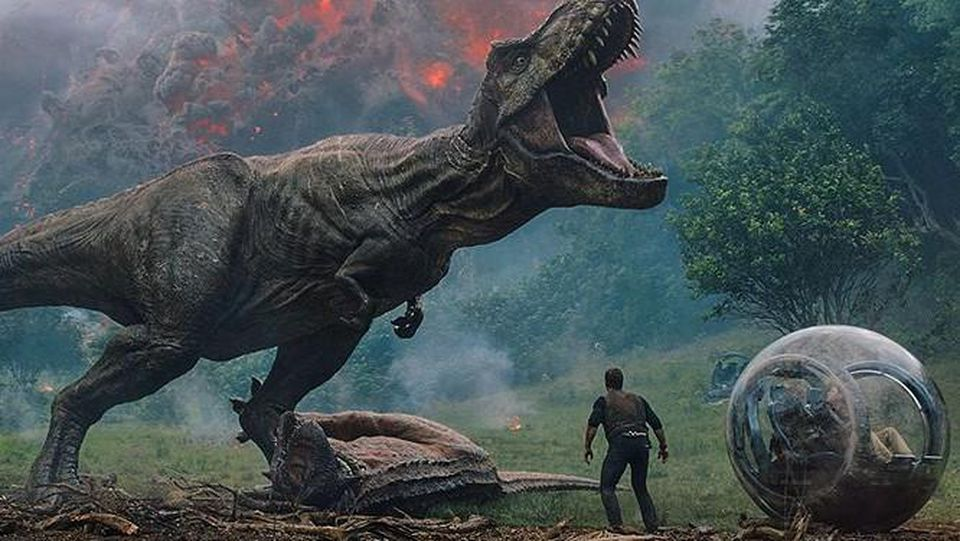 'Jurassic World: Fallen Kingdom' is now showing in area theaters.  (Universal Pictures/Amblin Entertainment)