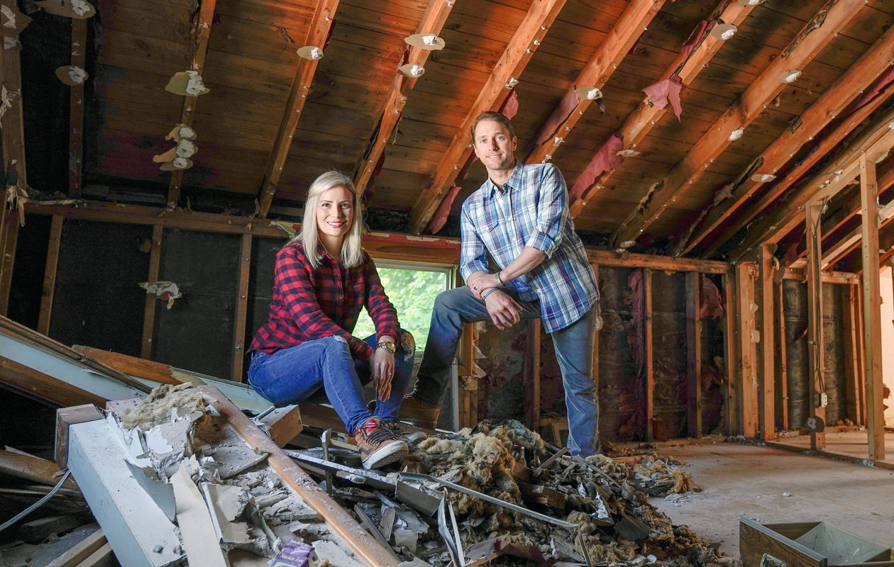 """Chris and Lorissa Naugle's show, """"Risky Builders,"""" premiers on HGTV June 24 at 2 p.m."""