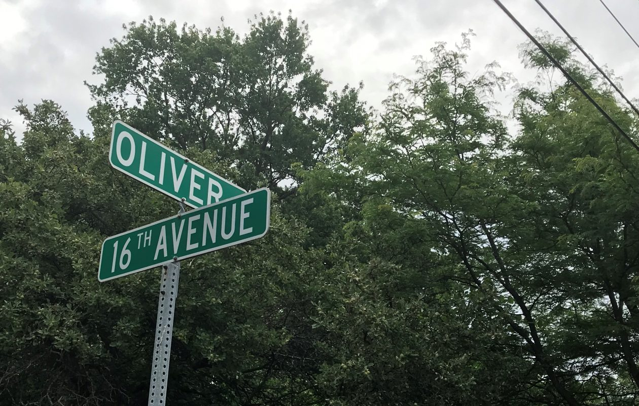 The bear was first seen at Donald Drive and Nash Road before being found by police at Oliver Street and 16th Avenue.