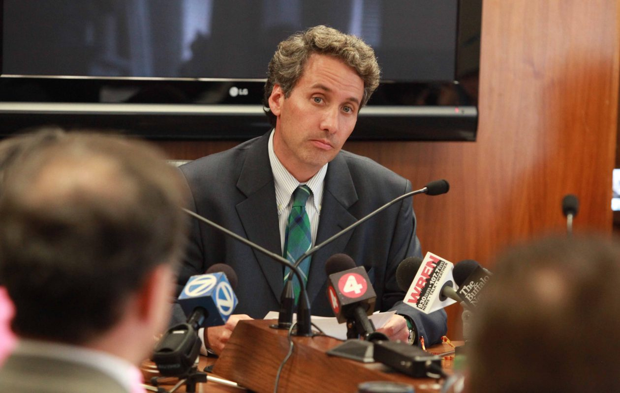 Louis J. Petrucci, former president of the Buffalo Board of Education, has been appointed to a vacant seat. (News file photo)