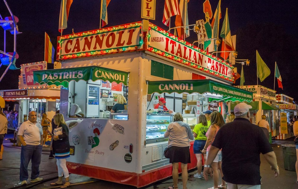 There's plenty of food, beer and entertainment at the annual Queen of Heaven Carnival in West Seneca. (Don Niemann/Special to The News)