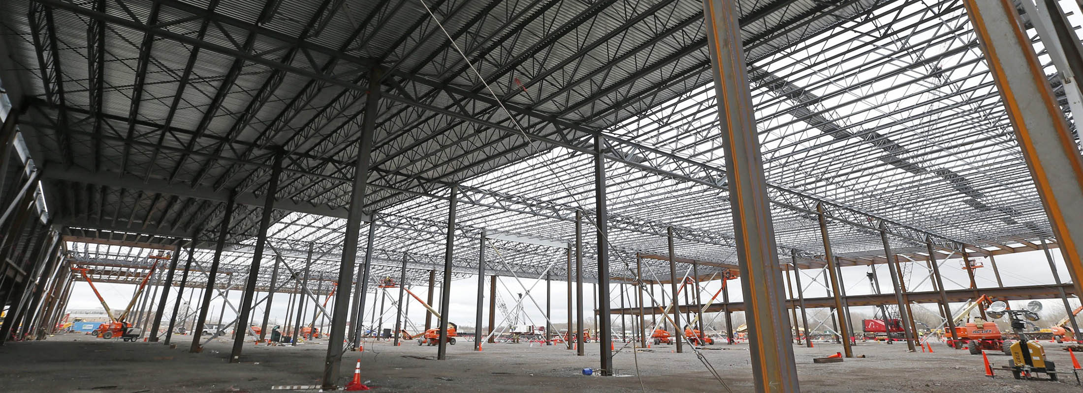 At issue in the trial will be whether laws were broken in the way Louis Ciminelli's firm, LPCiminelli, and a Syracuse company were selected to build some of Cuomo's signature upstate economic development projects, including the state's Buffalo Billion solar plant project at RiverBend.  (Robert Kirkham/News file photo)