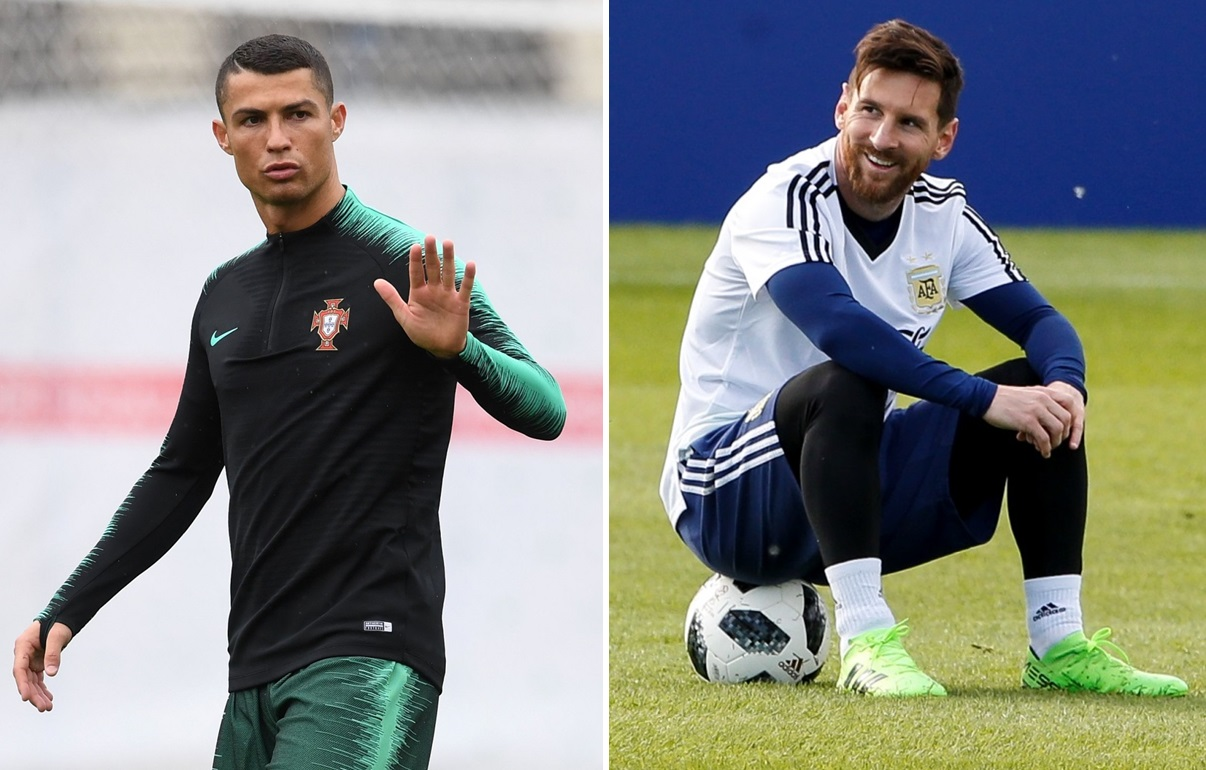 Eyes will be on Cristiano Ronaldo, left, and Lionel Messi, right, who have yet to seize soccer's biggest prize. (Getty Images)