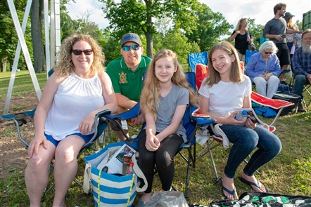 See the crowd that turned out for opening night of Shakespeare in Delaware Park's production of
