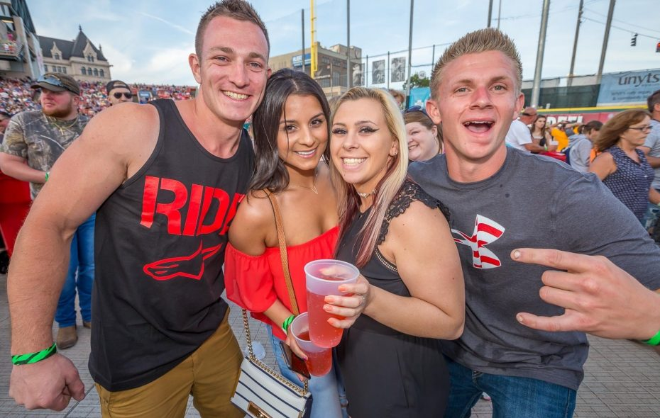 Smiling faces at the Taste of Country by WYRK, which returns Friday at Coca-Cola Field. (Don Nieman/Special to The News)