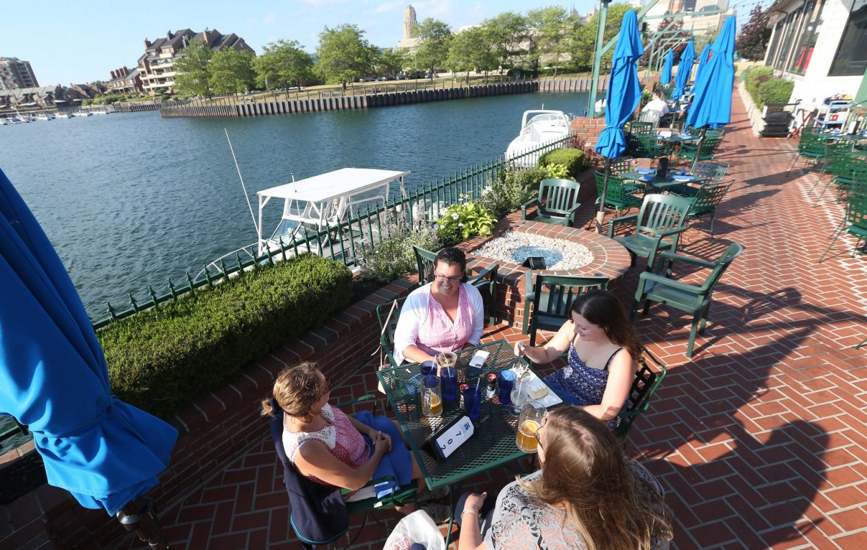 Templeton Landing's patio is a scenic location for Father's Day brunch. (Sharon Cantillon/News file photo)