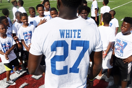 Tre'Davious White's football camp for kids in his hometown