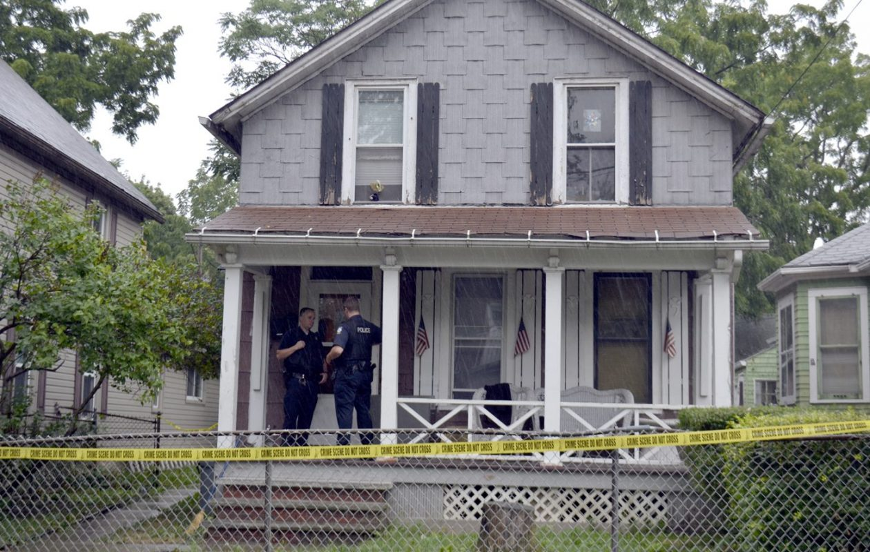 The house in Niagara Falls where Isabella Tennant was killed in 2012. (Larry Kensinger/Special to The News)