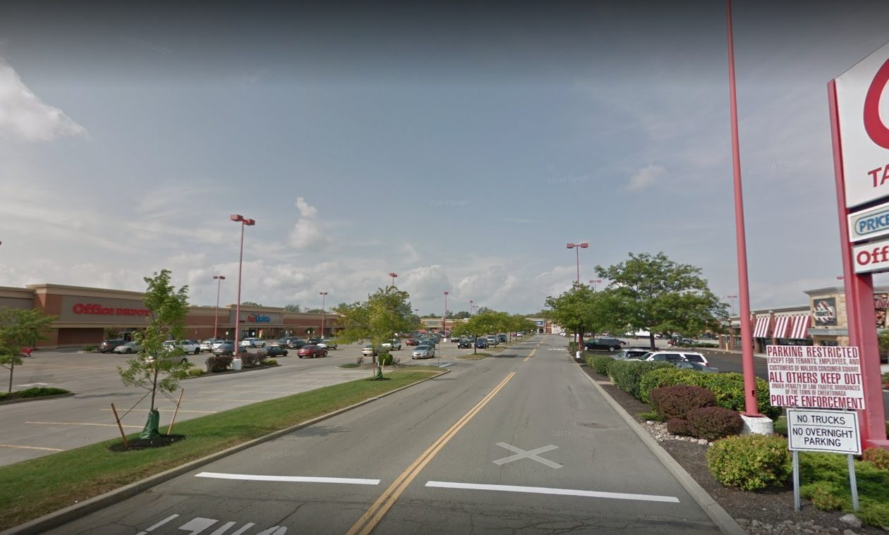 The Walden Consumer Square in Cheektowaga has been acquired by Benchmark Group of Amherst.