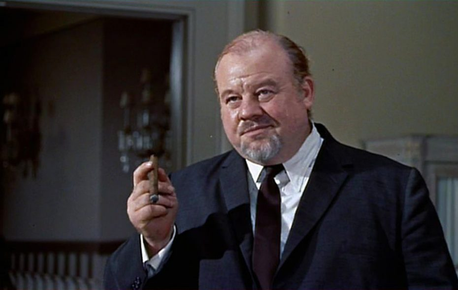 "Burl Ives as Big Daddy in ""Cat on a Hot Tin Roof"""