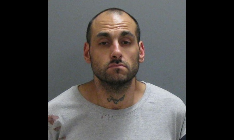 Albert L. Chapman, 34, was arrested Thursday night. (Jamestown Police)