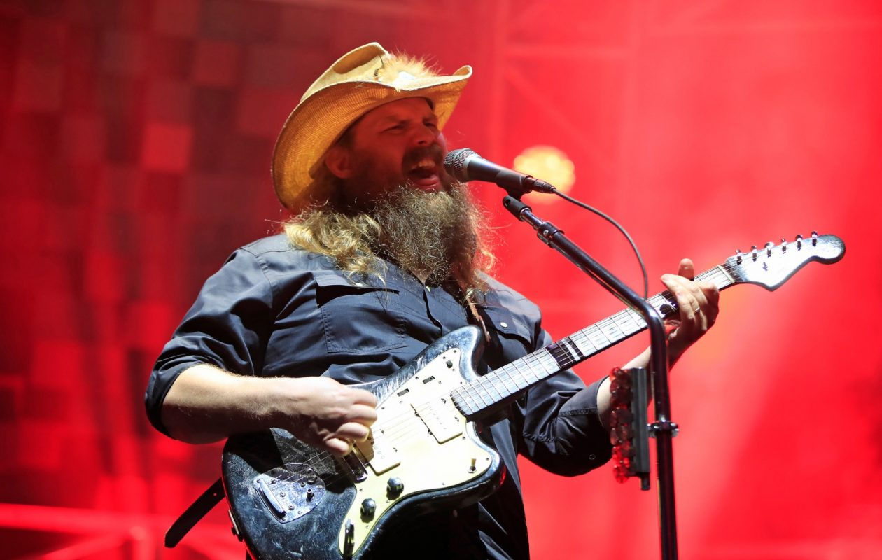 Country star Chris Stapleton entertained the crowd at the Darien Lake Amphitheatre. (Harry Scull Jr./The Buffalo News)
