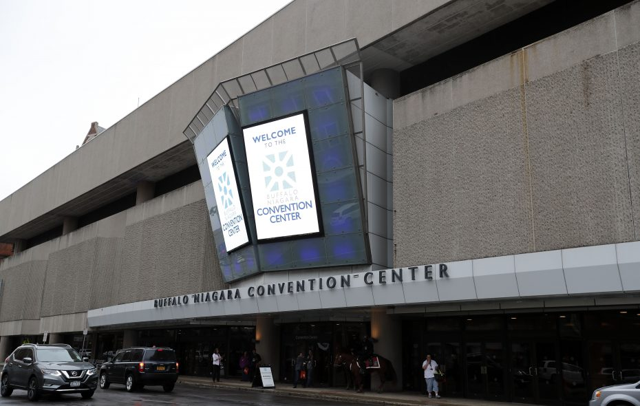 A tourism report highlights the Buffalo Niagara Convention Center's shortcomings in drawing events. (News file photo)