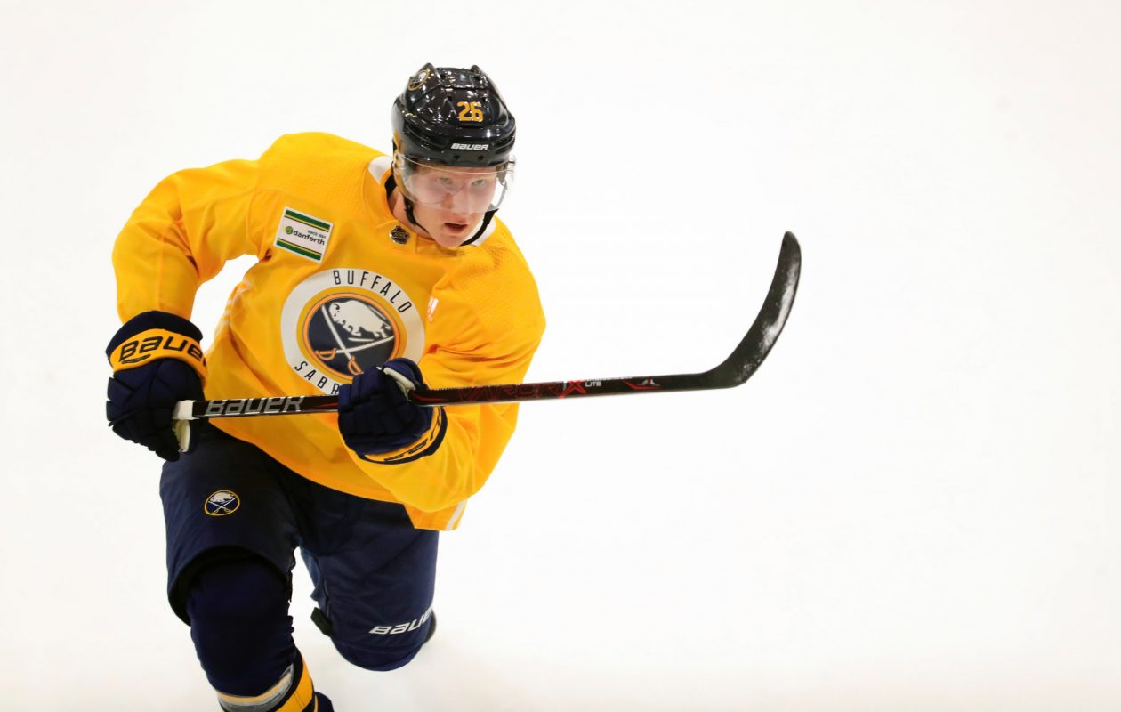 Rasmus Dahlin (Harry Scull Jr./News file photo)