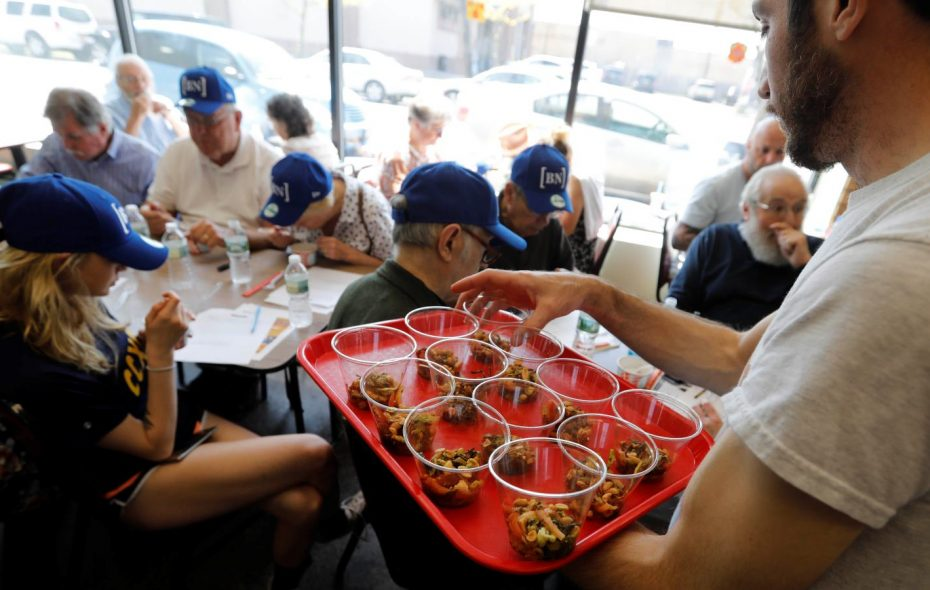 The News' next dining series event at the West Side Bazaar is Wednesday, July 17. (Derek Gee/Buffalo News)