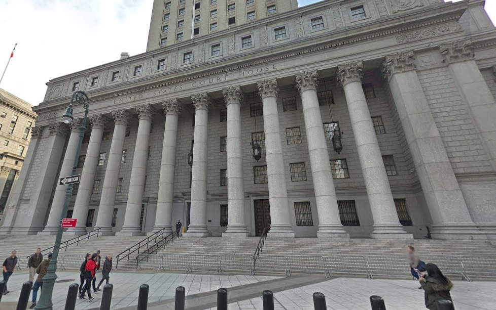 The federal courthouse in Manhattan where jury selection will begin Monday for the Buffalo Billion trial. scheduled to begin June 18. (Google image)