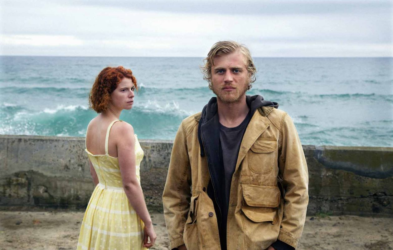Jessie Buckley, left, and Johnny Flynn star in this erotic mystery thriller. (Kerry Brown/30WEST - Roadside Attractions)