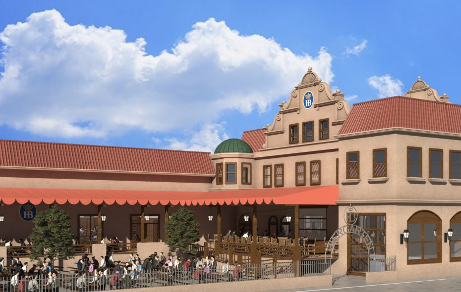 Hofbrauhaus Buffalo's beer garden and patio seating will hold about 300 outside. (Image courtesy of Hofbrauhaus Buffalo)