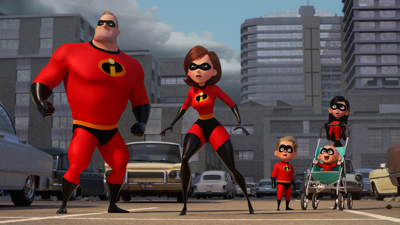 Don't hesitate to take the kids to 'Incredibles 2.' (Pixar)