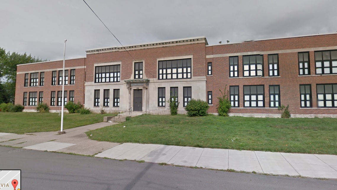 The middle school of Maritime Charter School on Buffum Street in South Buffalo. (Google Streetview)