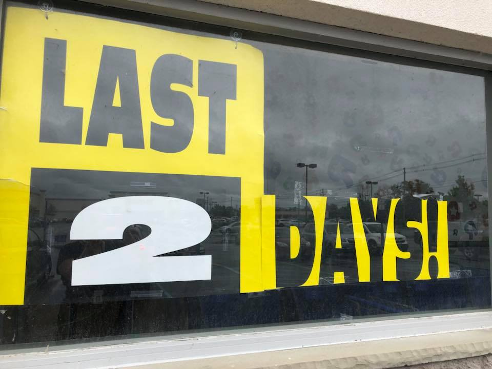 It's the final countdown. (Samantha Christmann/Buffalo News)