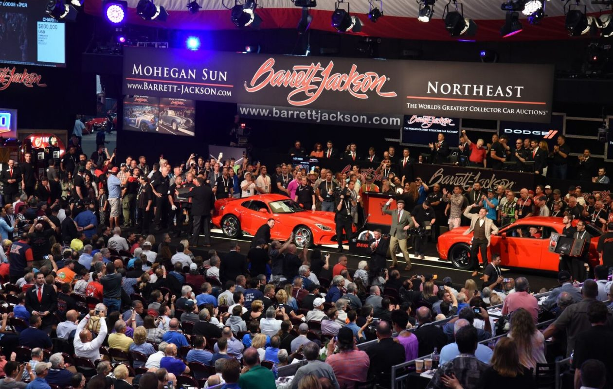 The Viper and Demon fetched a $1 million winning bid at auction. (Barrett-Jackson photo)