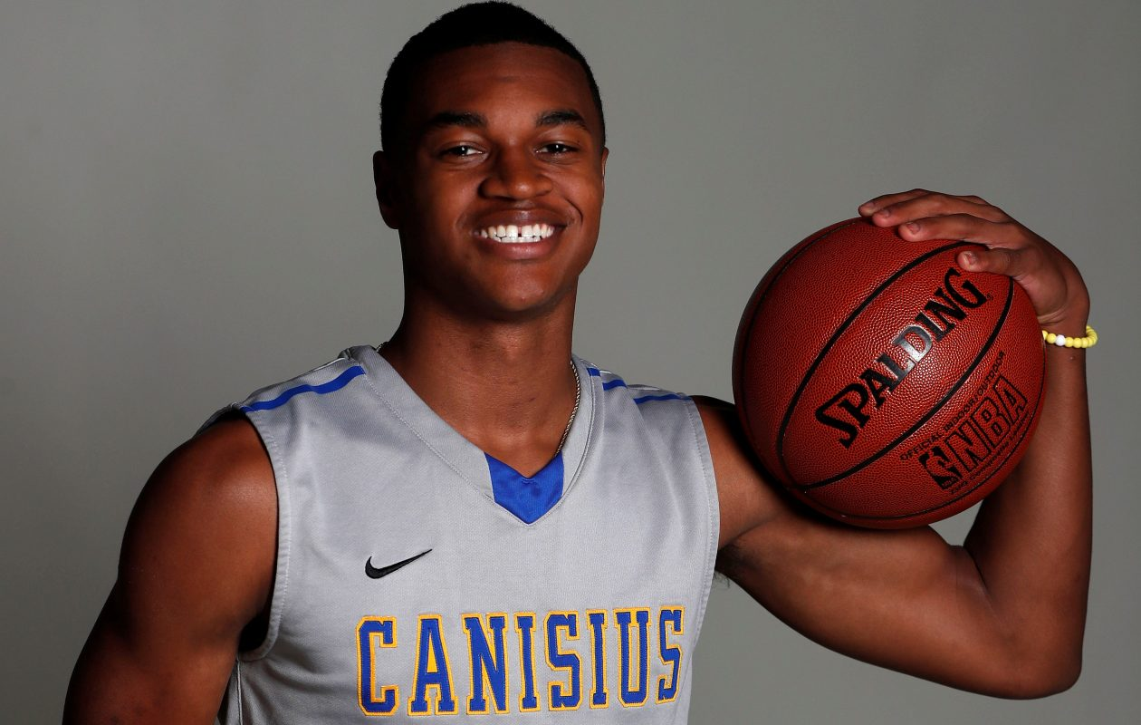 Canisius' Jayce Johnson earned third-team All-Western New York honors after helping Canisius to a 23-3 record last season. (Mark Mulville/Buffalo News)