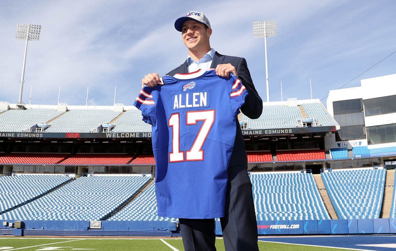 Josh Allen. (James P. McCoy/News file photo)