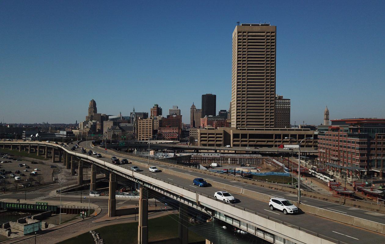 The Buffalo skyline (John Hickey/Buffalo News)