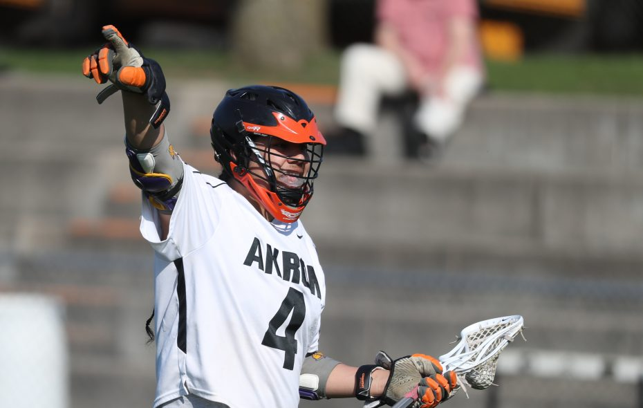 Owen Hill helped Akron win five straight Section VI titles during his scholastic career. (James P. McCoy/Buffalo News)