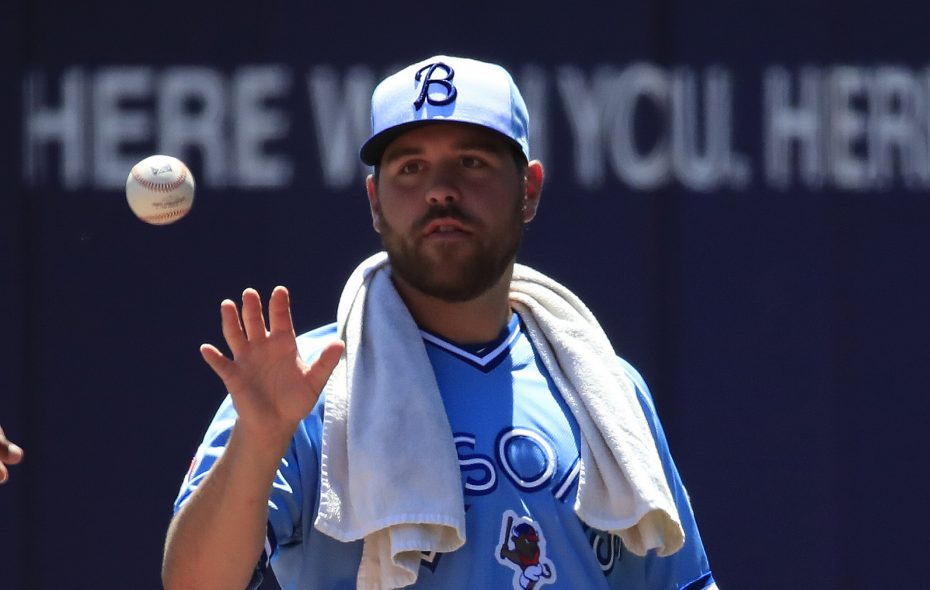 Conor Fisk has three blown saves this year. (Harry Scull Jr./News file photo)