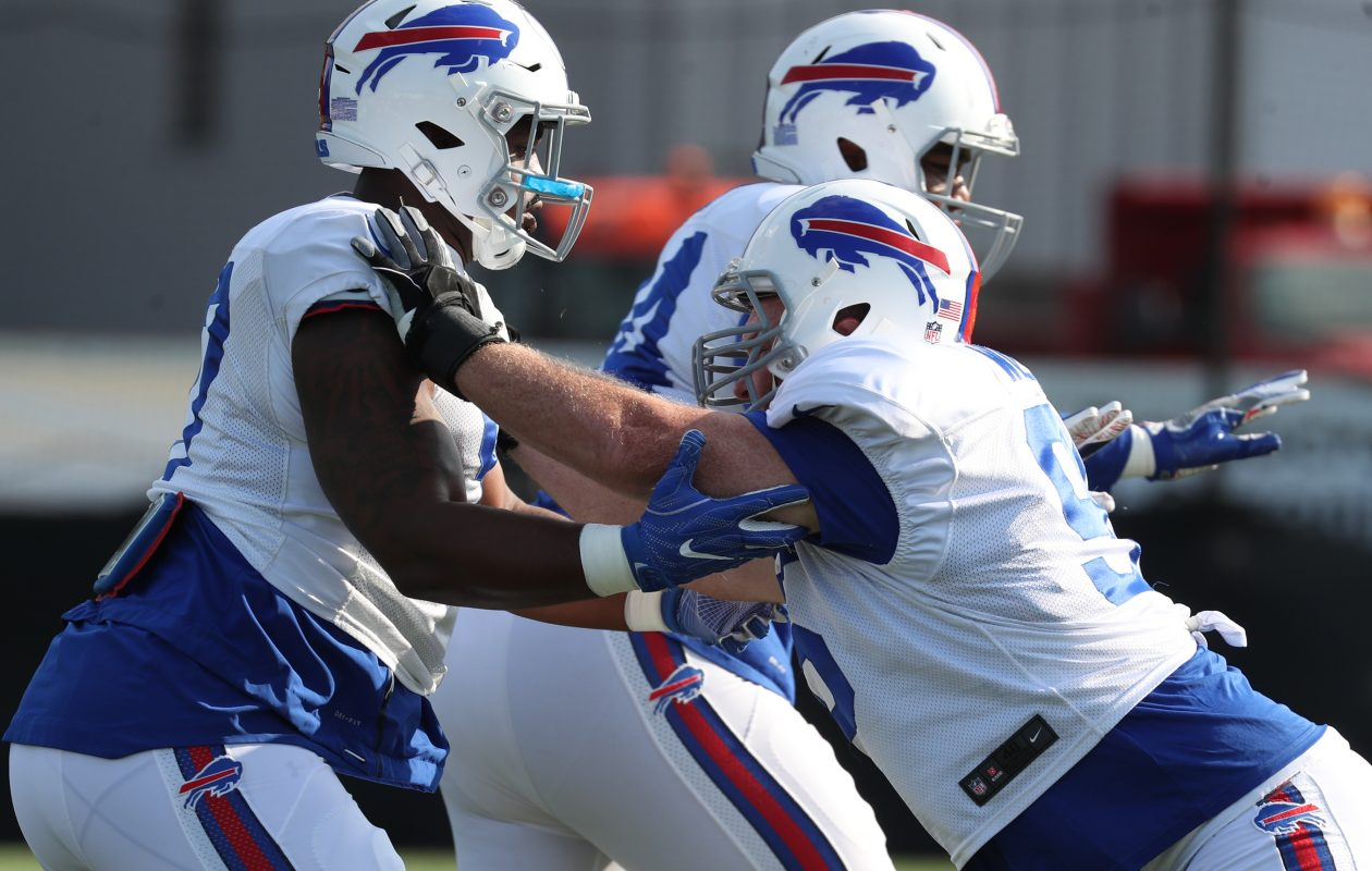 The Buffalo Bills are at training camp. (James P. McCoy/News file photo)