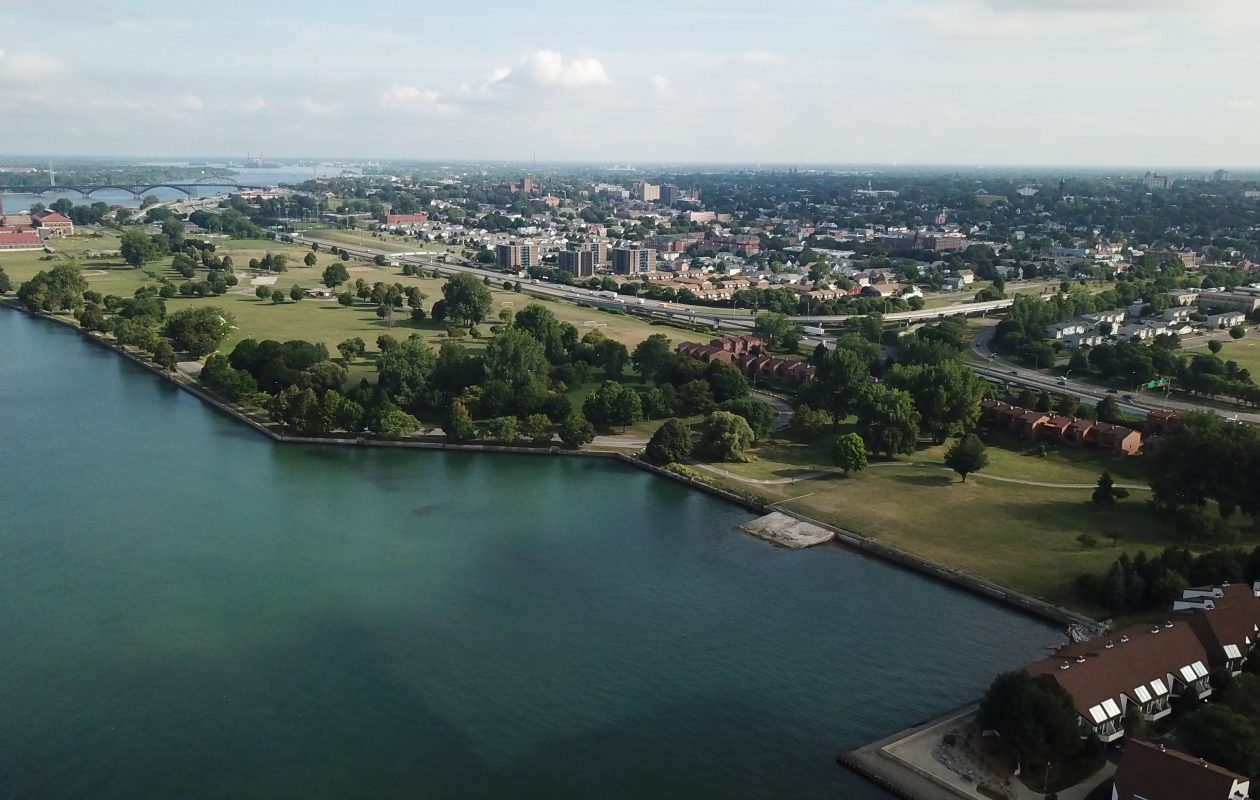 LaSalle Park is in line for a major reassessment. (John Hickey/Buffalo News)