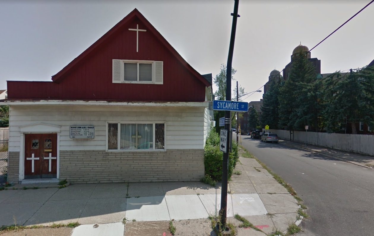 The former Mount Zion A.M.E. Church will become a Halal market and apartment, under a business owner's plan.