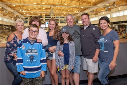 Smiles at 11-Day Power Play kickoff in HarborCenter