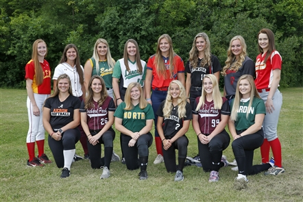 Here are the members of the 2018 All-Western New York Coaches softball first team