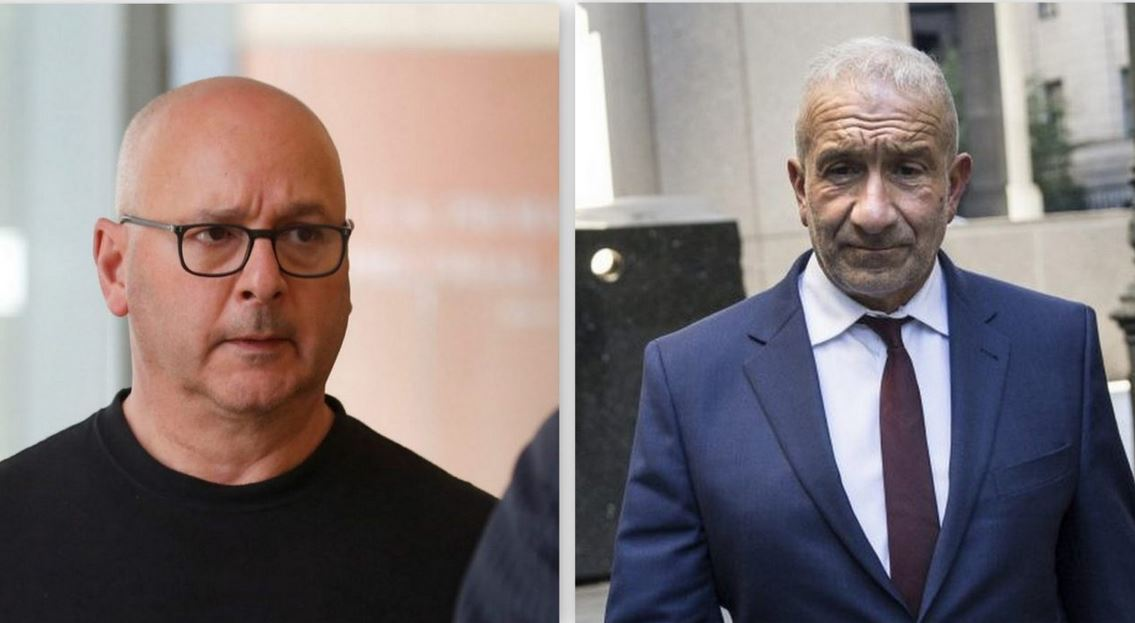 Louis Ciminelli, left, and Alain Kaloyeros were convicted Thursday of federal crimes related to state corruption. (Holly Pickett/The New York Times and Buffalo News file photo)
